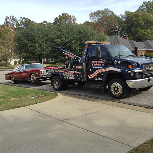 No job is too big or small for Joey's Towing & Recovery
