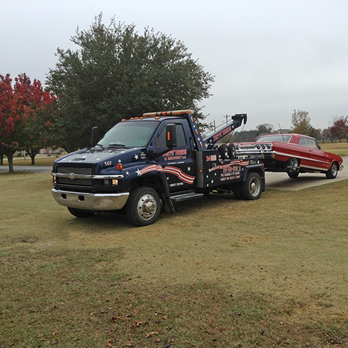 Need a tow?  We can hook you up!